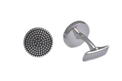 black-enamel-dots-silver