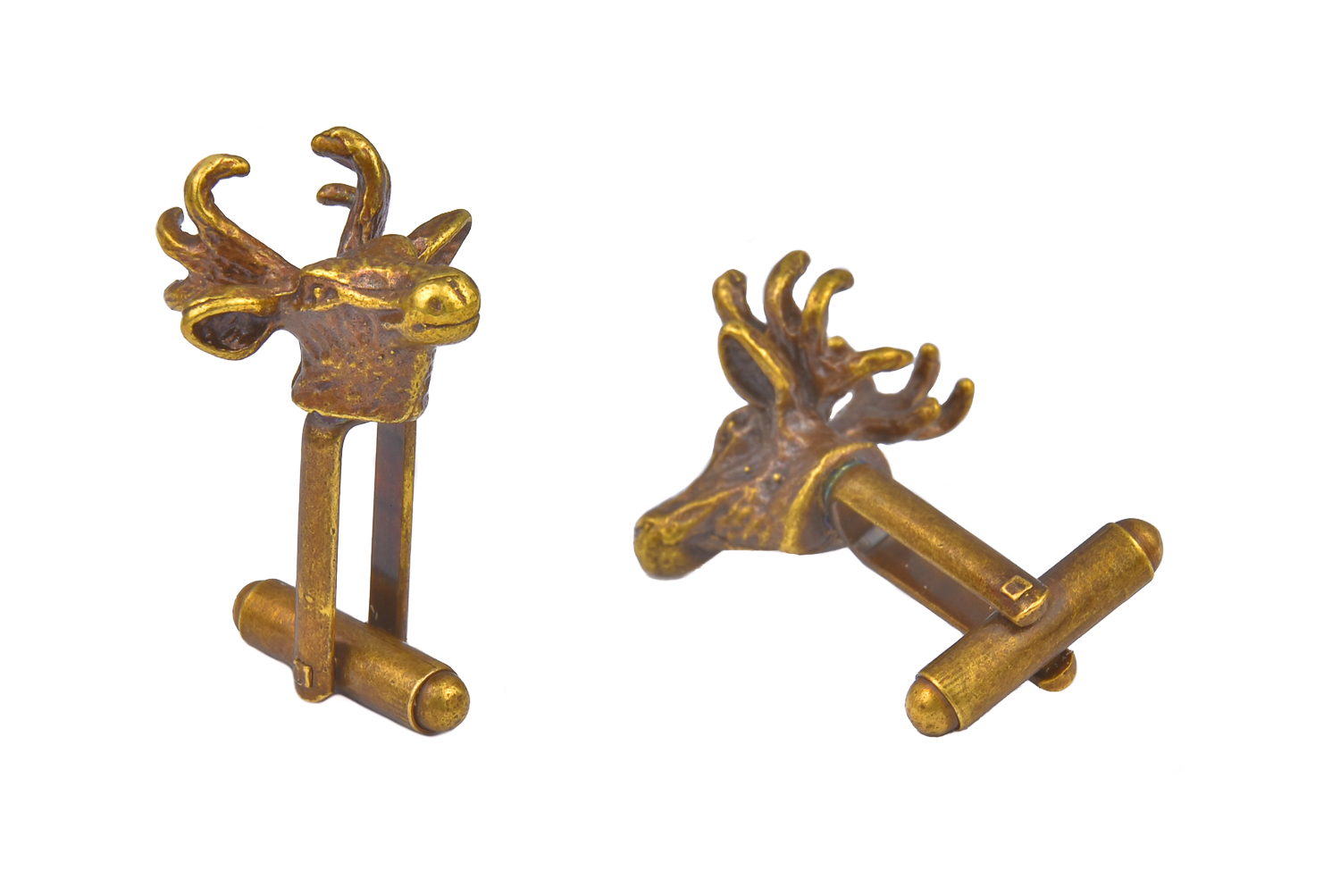 Stag and Antlers Cufflinks