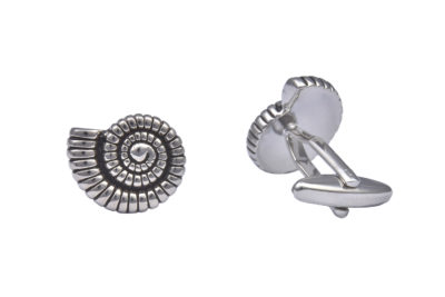 Ammonite Fossil Cufflinks
