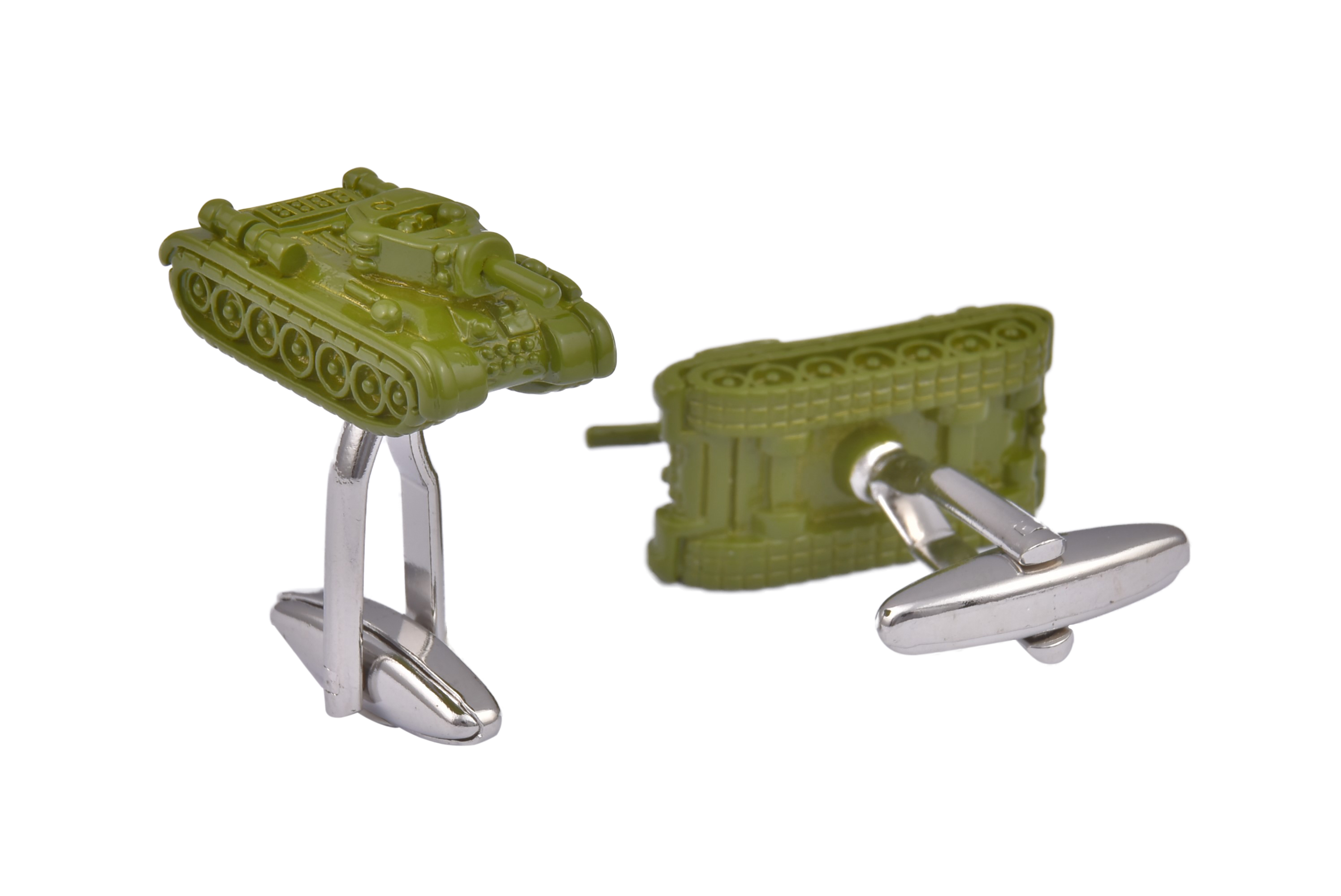 Tank Green Cufflinks