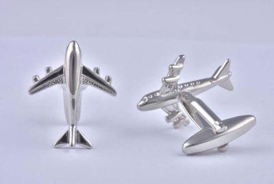 Aeroplane Boeing 747 Cufflinks