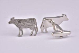 Butchers Cut Beef Cufflinks