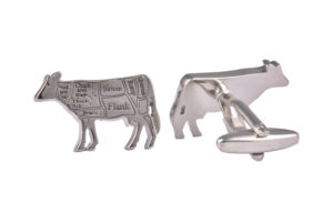Butchers Cut Beef Cufflinks