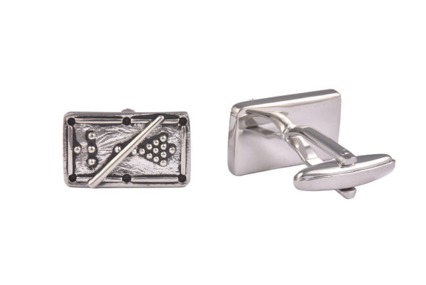 Snooker Table Cufflinks