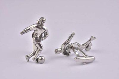 Football Player Cufflinks