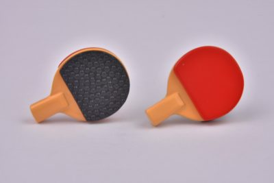 Table Tennis Bats Cufflinks