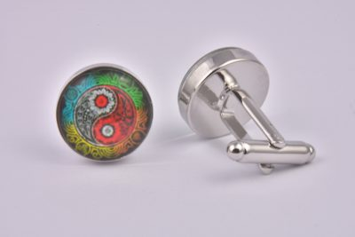 Avatar Pattern Cufflinks