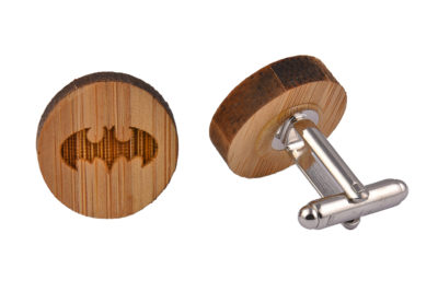 Wooden Bat Cufflinks