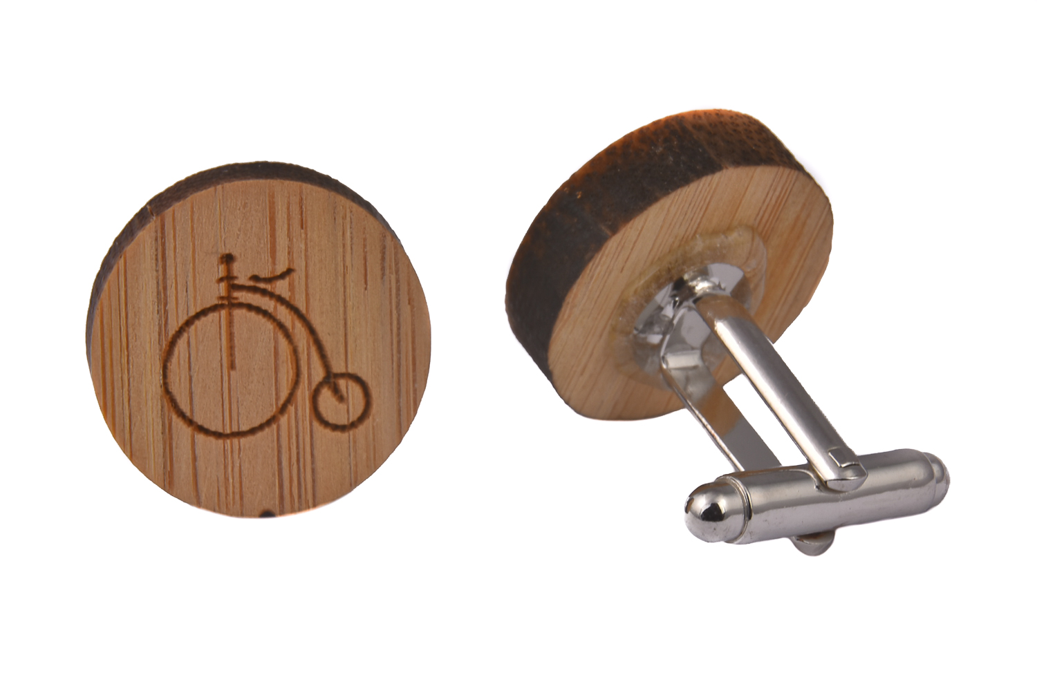 Wood Penny Farthing