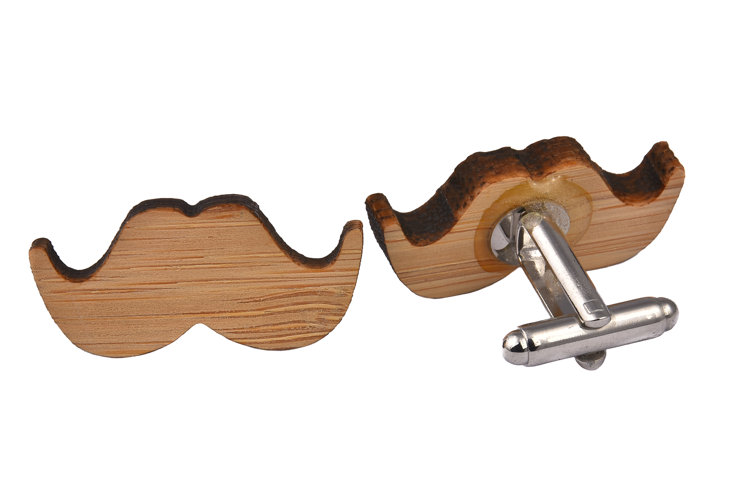 Wood Moustache Shape