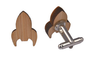 Wood Rocket Shape