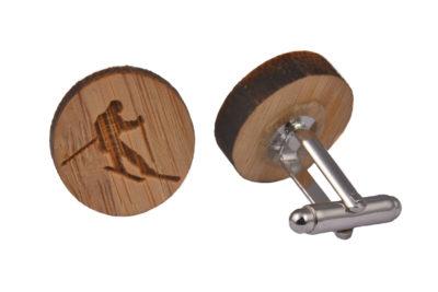 Wood Skiing