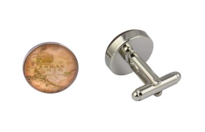 Lord Of The Rings Rohan Map Cufflinks