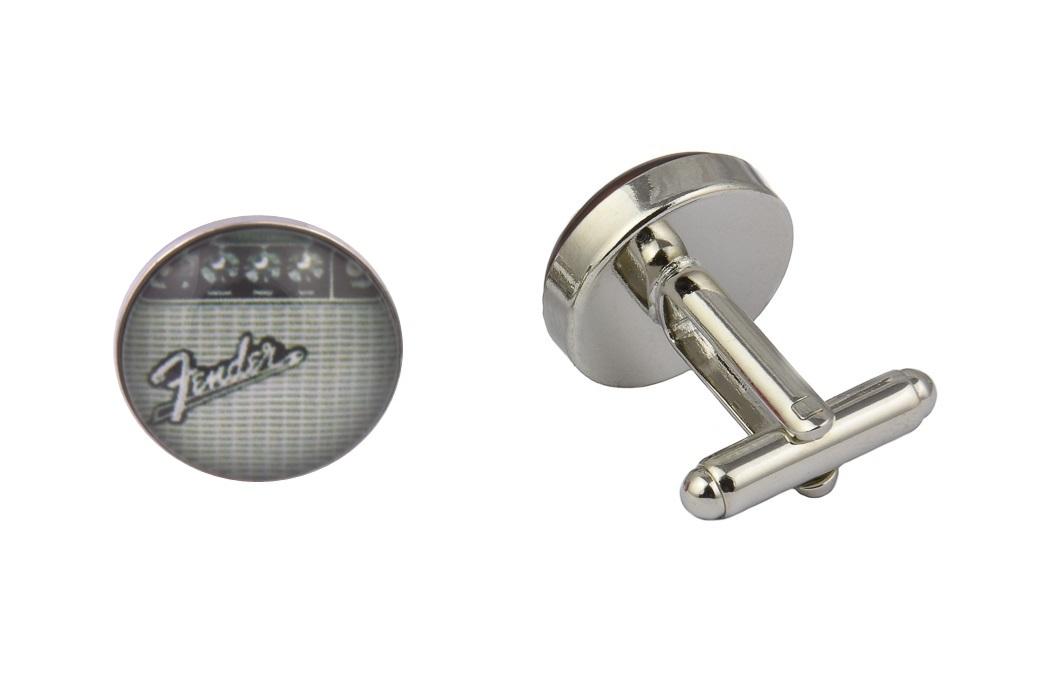 Fender Guitar Amp Logo Cufflinks