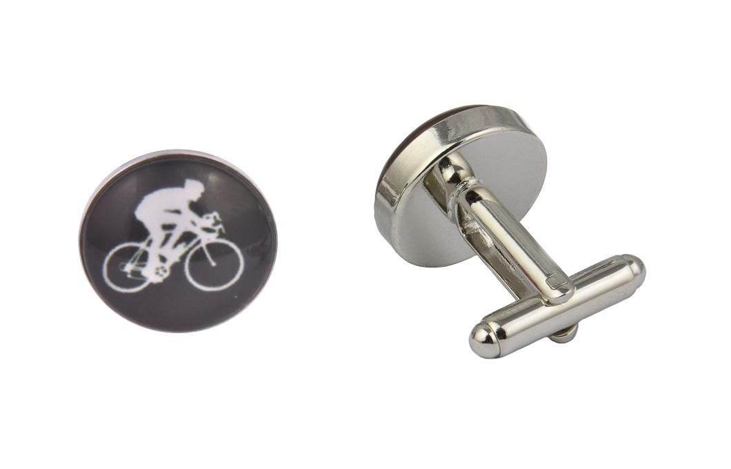 Cyclist Cufflinks