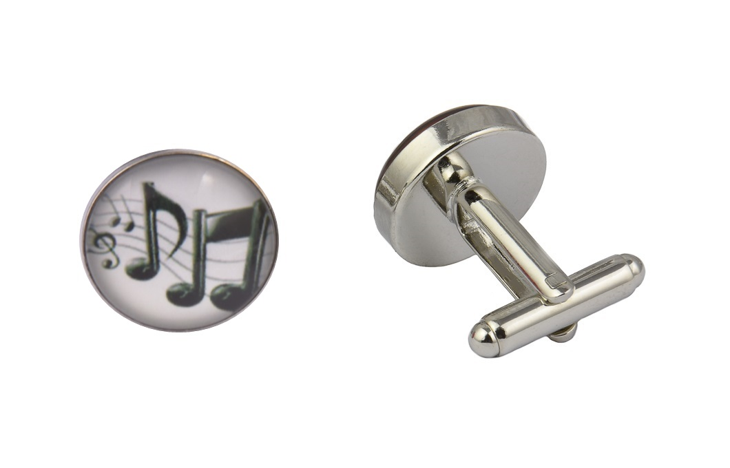 Musical Notes White
