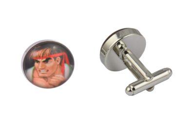 Street Fighter Character Cufflinks