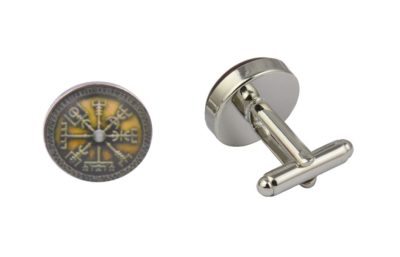 Viking Compass Cufflinks