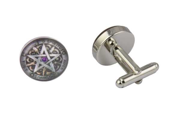 Wiccan Protection Charm Cufflinks