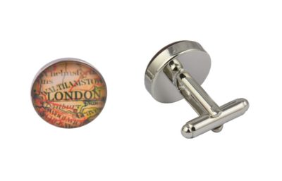 London Map Cufflinks