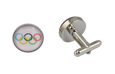 Olympic Flag Cufflinks