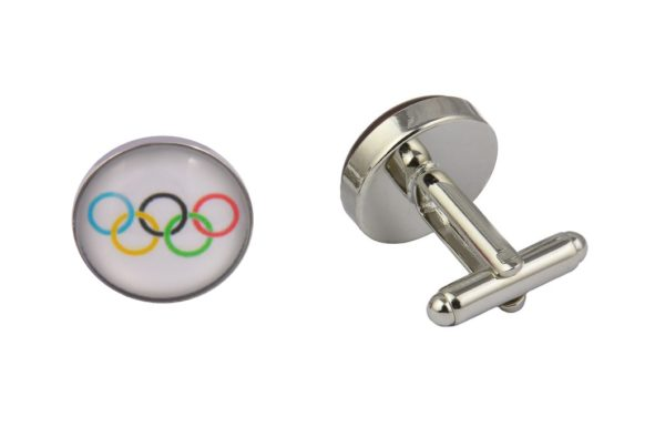 Olympic Flag Cufflinks
