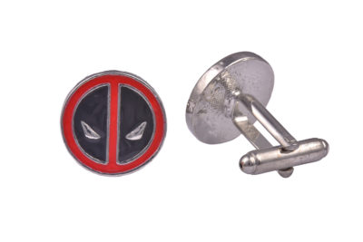 Deadpool Metal Cufflinks