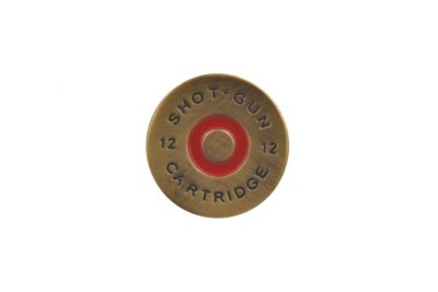 Shotgun Pellet Lapel Pin Badge