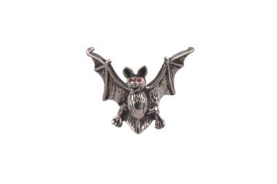 Bat Red Eyes Lapel Pin