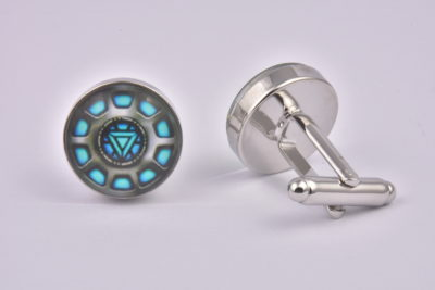Iron Man Reactor Blue Cufflinks