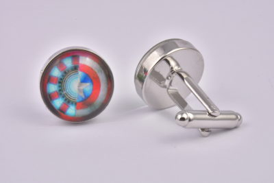 Iron Man V Captain America Cufflinks