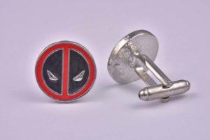 Deadpool Metal Cufflinks