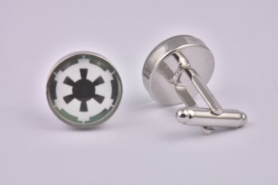 Star Wars Galactic Empire Logo Cufflinks