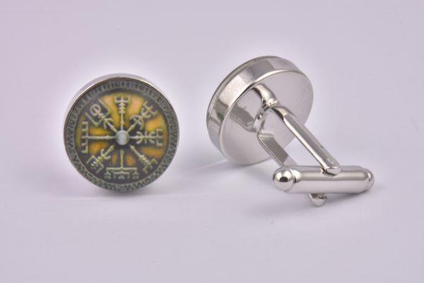 Viking Compass Cufflinks