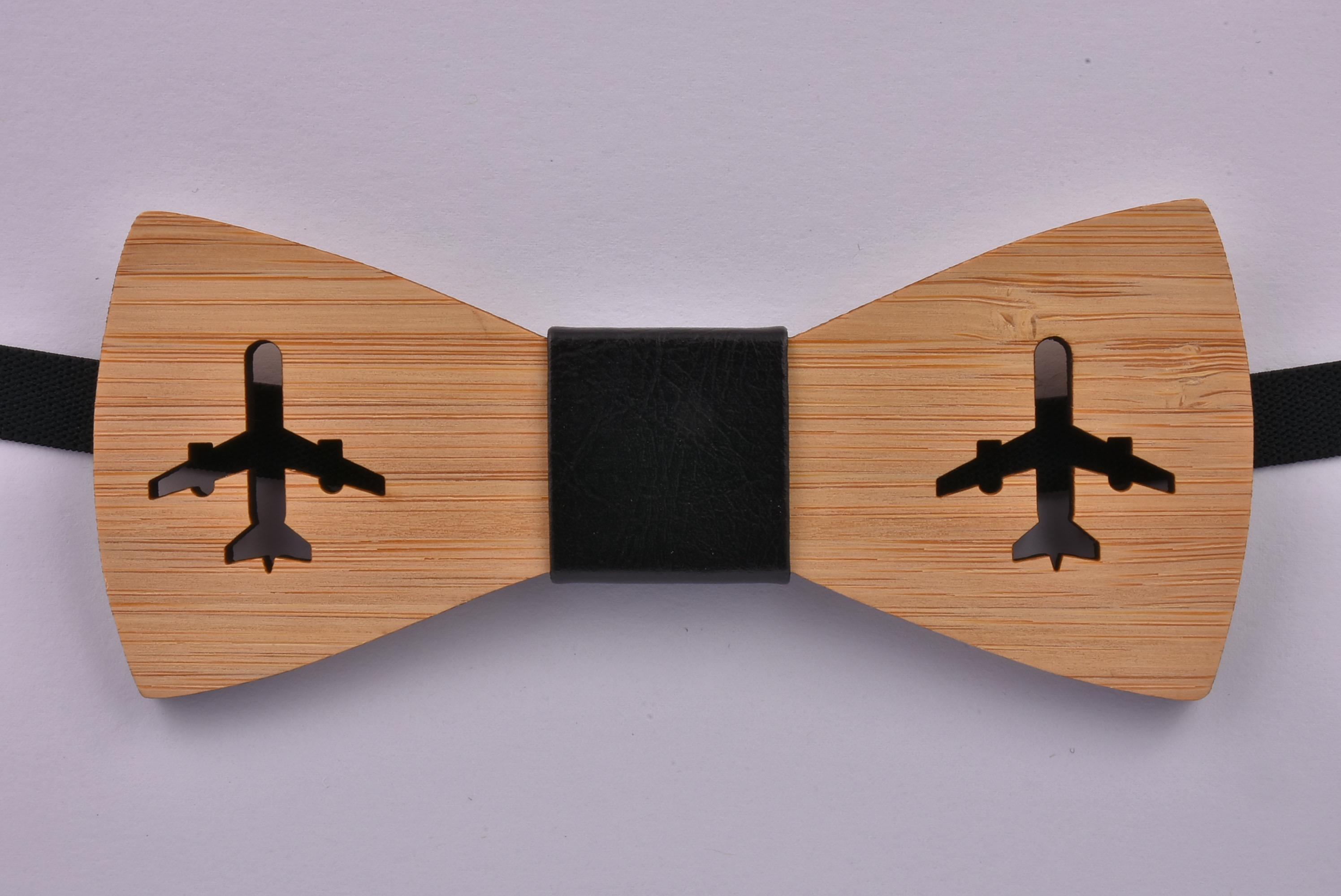 9ea59824c3bf Wooden Bow Tie Aeroplanes | eBay