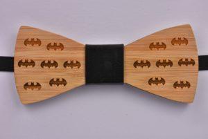 Wood Bow Tie Bats