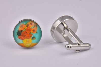 Van Gogh Sunflowers Cufflinks