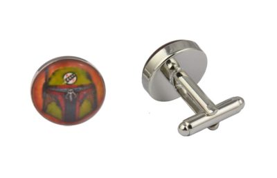Star Wars Boba Fett Art Cufflinks
