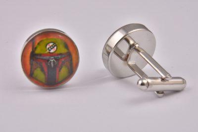 Star Wars Boba Fett Art Cufflinks