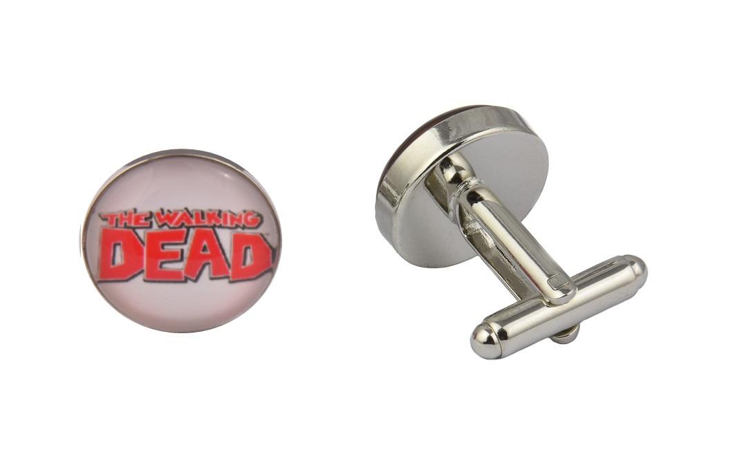 Walking Dead Logo White Cufflinks
