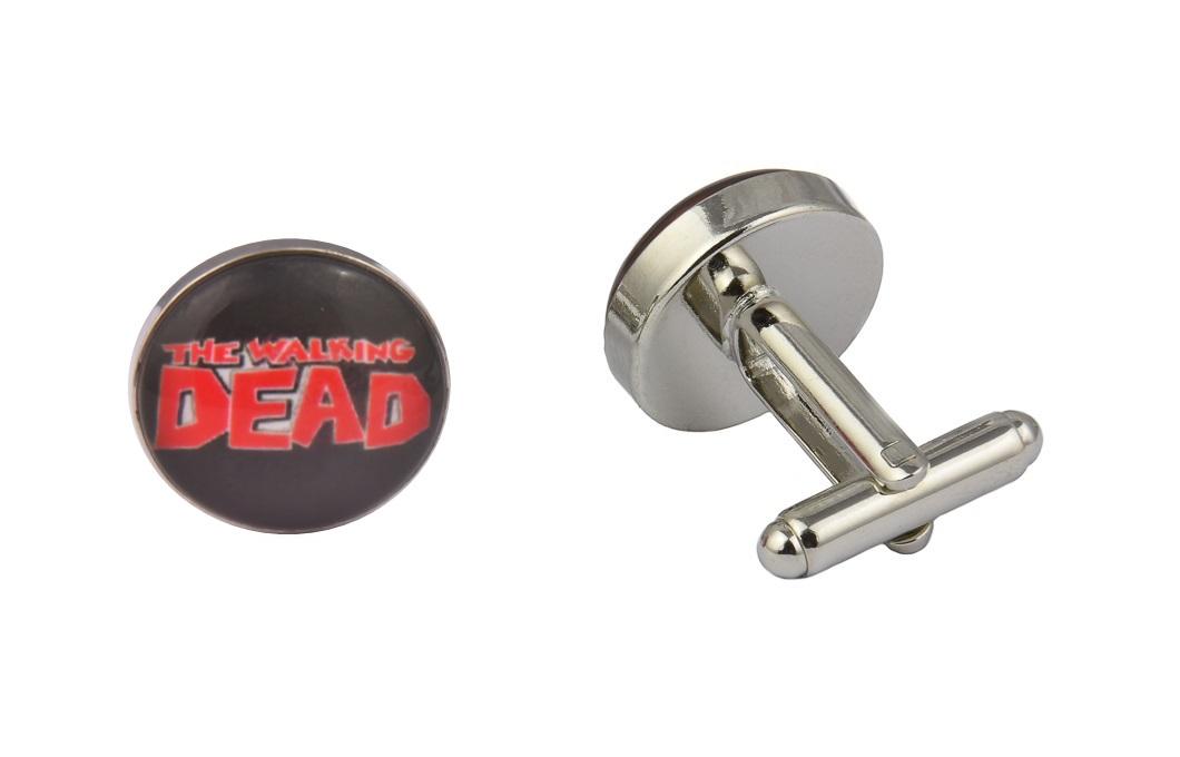 Walking Dead Logo Black Cufflinks
