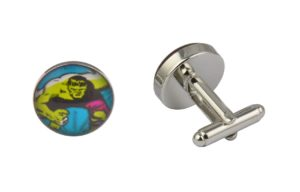 Comic Book Incredible Hulk Angry Cufflinks