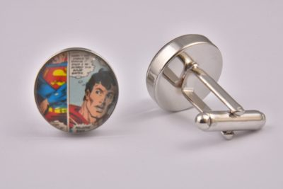 Comic Book Superman Cufflinks