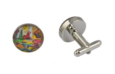 Comic Book Superhero Cufflinks