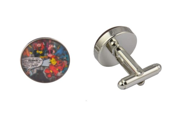 Comic Book Avengers Cufflinks