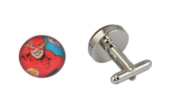 Comic Book Flash Cufflinks