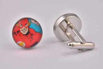 Comic Book Flash Cufflinks