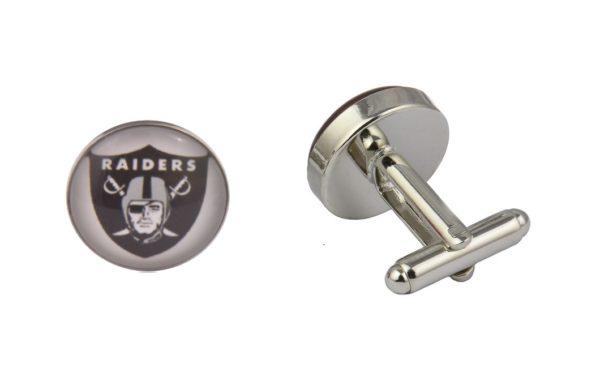 Oakland Raiders Football Logo Cufflinks