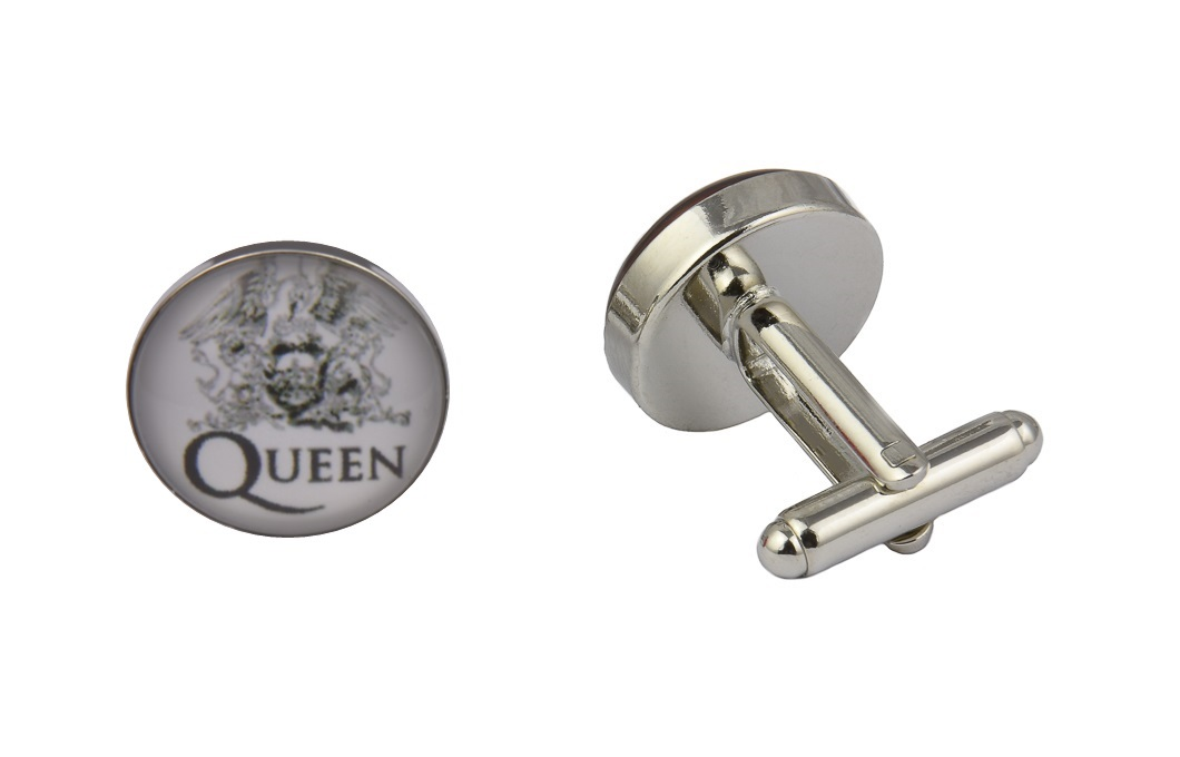 Queen Band Logo Cufflinks