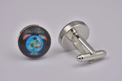 Deep Purple Album Cover Cufflinks
